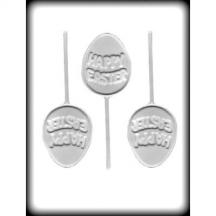Happy Easter Egg Sucker Hard Candy Mold