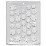 Snowflakes Assortment Hard Candy Mold