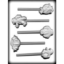 Halloween Assortment Sucker Hard Candy Mold