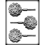 Snowflake Sucker Hard Candy Mold