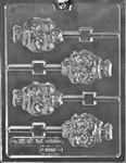 Skull Lolly Chocolate Mold