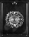 Large Sunflower Chocolate Mold - LPF105