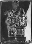 3D Haunted House Chocolate Mold - Front