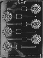 Flower Lolly Chocolate Mold