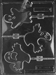 Ghost Lolly Chocolate Mold - 3 Different Styles