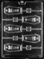 Coffin Lolly Chocolate Mold - LPH045