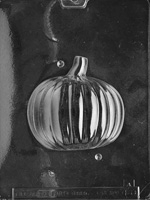 3D Pumpkin Chocolate Mold - Side A