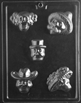 Day of the Dead Skulls Candy Mold