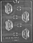 Fangs Lollipop Chocolate Mold - LPH168