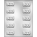 "1-7/8 "" Boo Chocolate Mold"