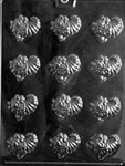 Bite Size Cornucopias Chocolate Mold