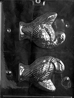 3D Turkey Chocolate Mold - LPT022
