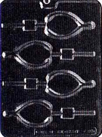 Wishbone Lolly Chocolate Mold - LPT039