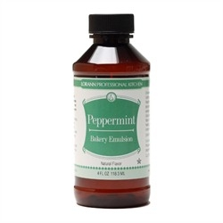 Natural Peppermint Bakery Emulsion - Four Ounces