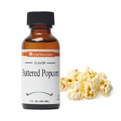 Buttered Popcorn Flavor - One Ounce