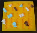 Graduation Assortment Flexible Mold