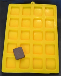 Caramel Flexible Candy Mold