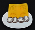 Country Western Flexible Candy Mold