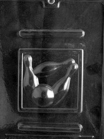 Bowling Plaque Chocolate Mold