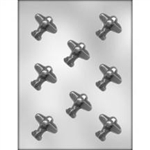 "1-3/4"" Airplane Chocolate Mold"