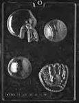 All Sports Chocolate Mold - LPS086