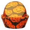 Pumpkin Halloween Baking Cups - 100 Pack