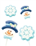 Frosty & Snowflake Candy Mold