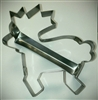 Heavy duty reindeer cookie cutter