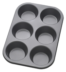 6 Cup Non-Stick Jumbo Muffin Pan