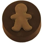 Gingerbread Boy Sandwich Cookie Chocolate  Mold
