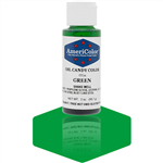 Green Oil Candy Color - 2 Ounces