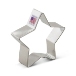 "3-1/2"" Star Cookie Cutter holiday christmas award"