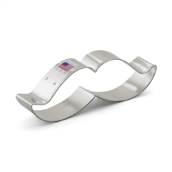 "5-1/4"" Mustache Cookie Cutter"