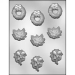 Christmas Assortment Chocolate Mold