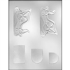 "4-1/4"" Sleigh 3D Chocolate Mold candy christmas holiday gift winter"