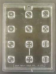 Dice Shaped Chocolate Mold