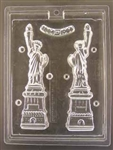 3D Statue of Liberty Chocolate Mold New York 4th of July