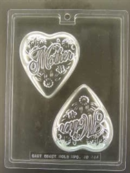Mother Heart Shaped Mold