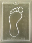 Foot Print Chocolate Mold