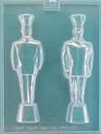 3D Chef Award Statue Mold
