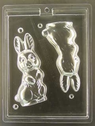 3D Rabbit Chocolate Mold