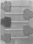 shamrock lollipop mold