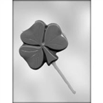 "4"" Shamrock Sucker Mold"
