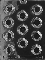 Fluted Cups Chocolate Mold - LPAO064