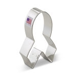"4"" Awareness Ribbon Cookie Cutter"
