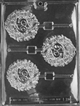 65th Lolly Chocolate Mold