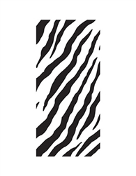 Zebra Stripes Favors Bags with Ties