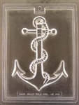 Large Ship Anchor Chocolate Mold