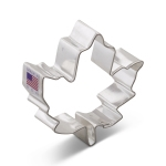 "3-1/8"" Maple leaf cookie cutter"