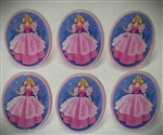 Princess Ring Or Cupcake Topper - 6 Pack